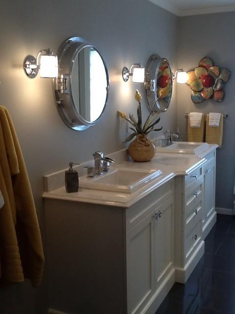 Custom bath transitional bathroom other by cristy for Custom decor inc