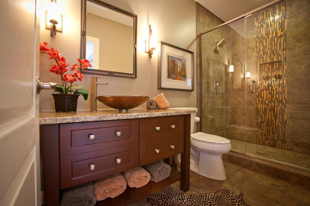 Custom bath vanity - Transitional - Bathroom - Cincinnati ...