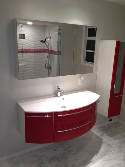 Custom Bathroom Vanities By Bauformat Made In Usa Contemporary Bathroom Los Angeles By Bauformat