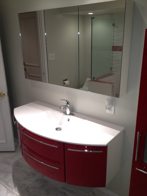 Custom bathroom vanities by bauformat made in usa contemporary bathroom los angeles by Bathroom cabinets made in usa