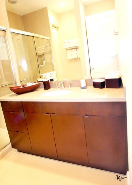 custom bathroom vanities contemporary bathroom