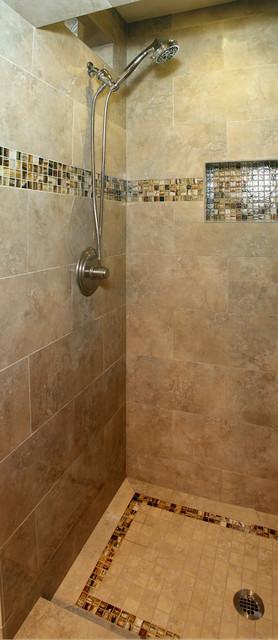 Bathroom - traditional bathroom idea in San Diego