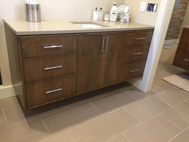 custom built bath vanities modern bathroom