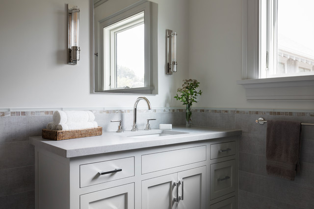 How To Choose A Bathroom Mirror, How Big Should A Mirror Be For 36 Vanity