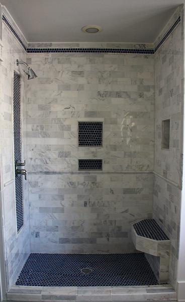 Superieur Custom Built Tile Shower Bathroom