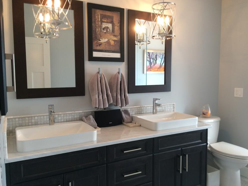 Custom bungalow - Craftsman - Bathroom - Calgary