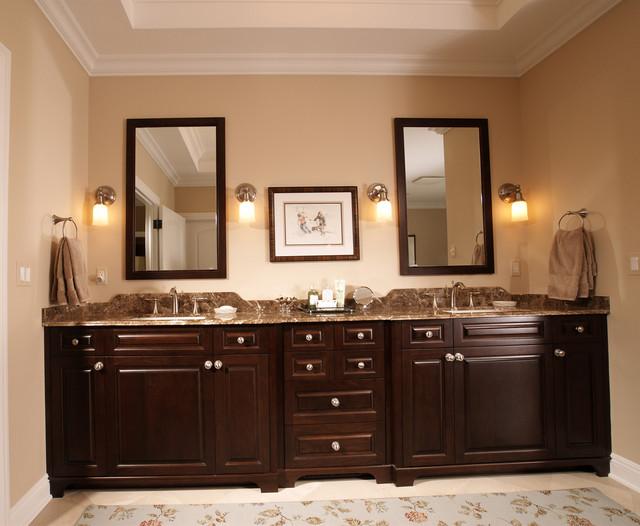 Custom Cabinetry traditional-bathroom