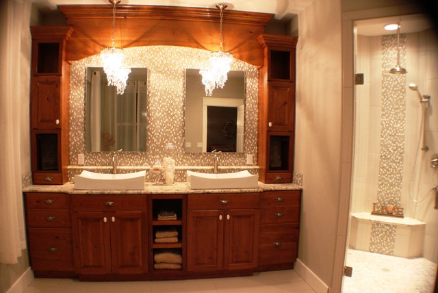 Custom cabinets for private residence in kennewick wa for Custom bathroom cabinets