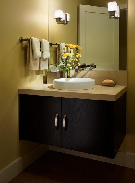 Custom Cabinets contemporary-bathroom