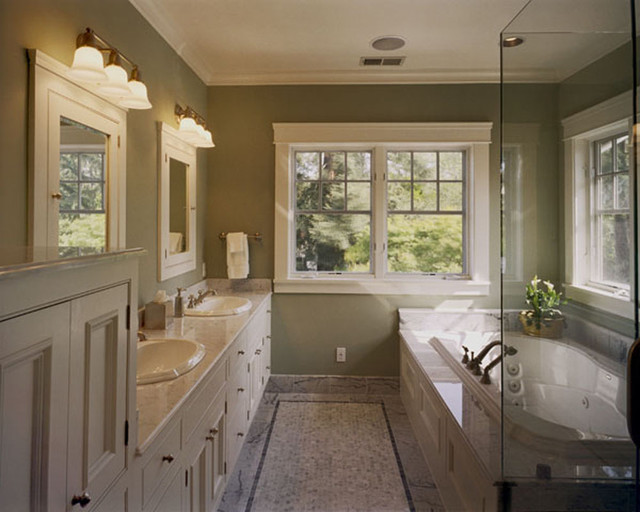 Custom craftsman craftsman bathroom other metro by for Craftsman bathroom design