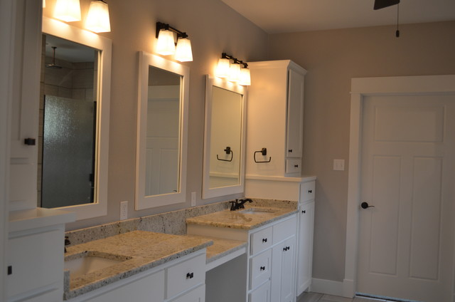 Craftsman Style Master Bathroom : Custom craftsman style master bathroom