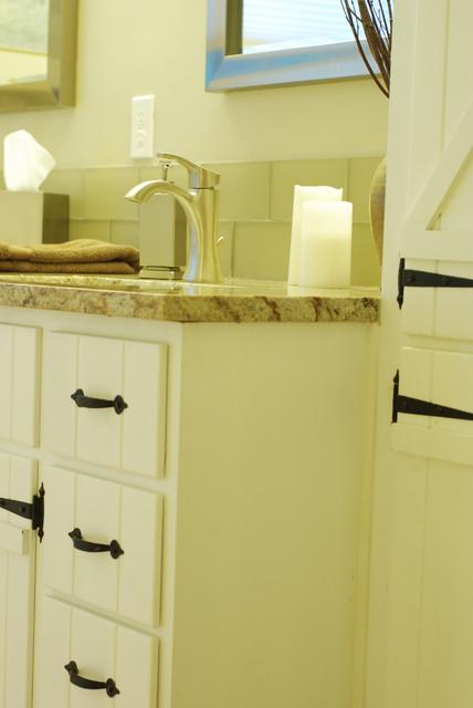 Custom DIY Bathroom Doors Traditional Bathroom