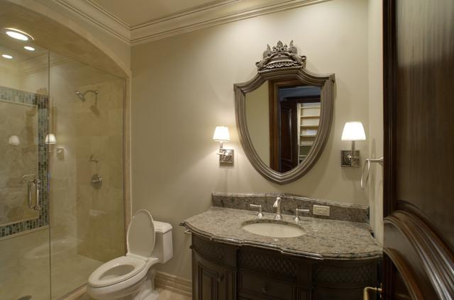 Custom Estate Home traditional-bathroom