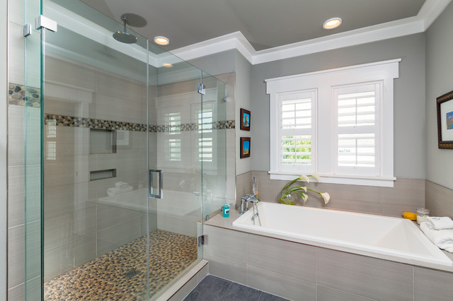 Custom Home Aragon Pensacola Beach Style Bathroom