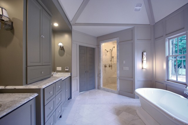 Custom Home-Atlanta contemporary bathroom