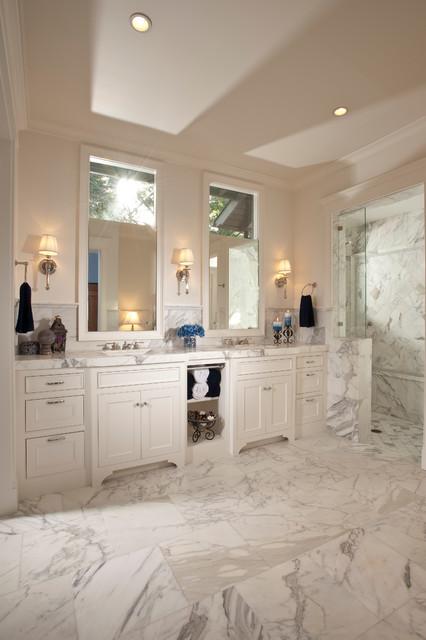 Custom Home Build - Portola Valley traditional-bathroom