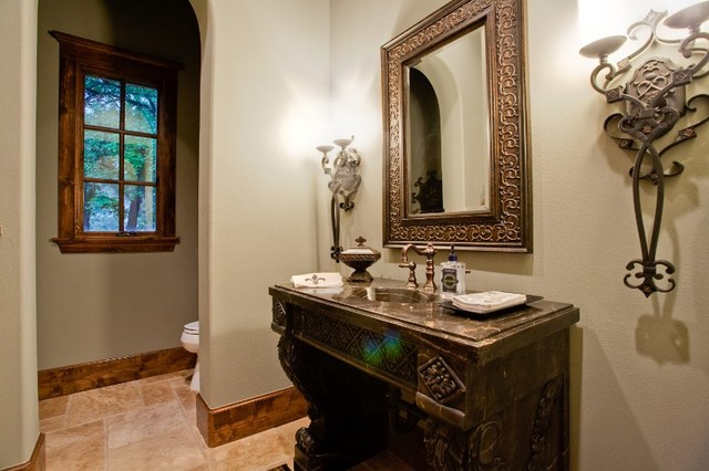 Custom home build, St. Emilion subdivision in Southlake, TX traditional-bathroom