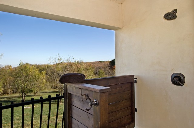 Custom Home by Rob Carpenter Construction: Saddle Springs eclectic-bathroom