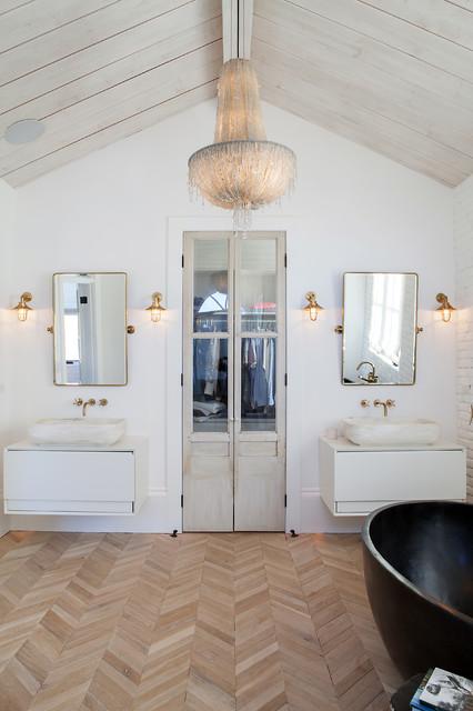 custom home campagne salle de bain orange county par gaetano hardwood floors inc. Black Bedroom Furniture Sets. Home Design Ideas