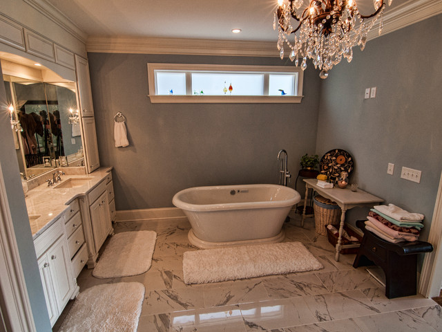 Custom Home In N Chattanooga Traditional Bathroom