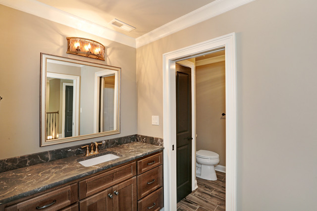 custom home july 2016 craftsman bathroom - Craftsman Bathroom 2016