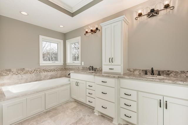 Custom Home Plymouth Mn Craftsman Bathroom