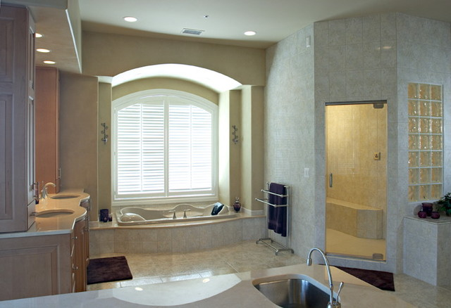 Custom Home Portfolio contemporary bathroom