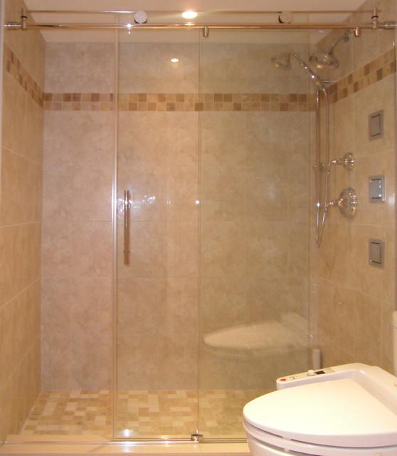 Most popular shower door designs modern bathroom for Most popular bathroom tile designs
