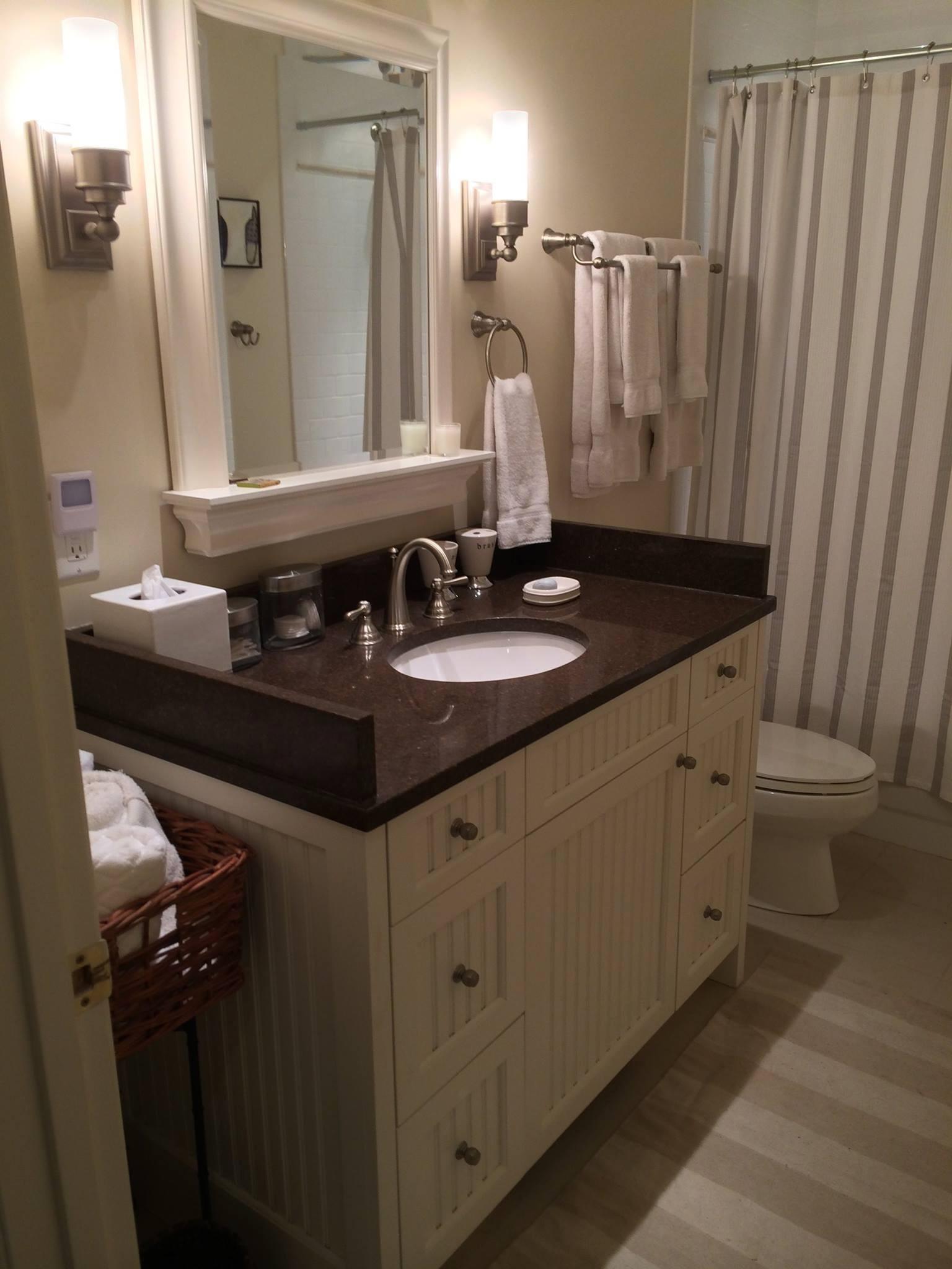 Custom Installation - Guest Bathroom