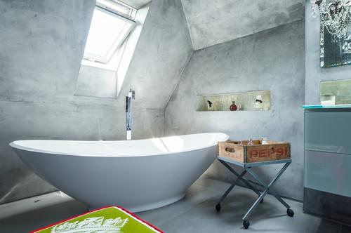 Progettare Il Bagno Di Casa : Un bagno nel sottotetto di casa dilei