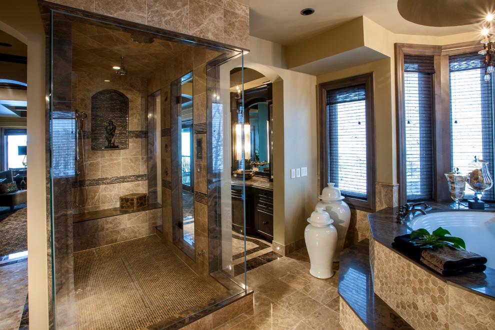 Custom Lake House - Traditional - Bathroom - Calgary - by ...