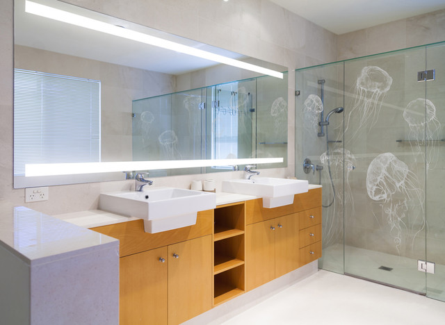 Custom Luxury Bathroom Australia Contemporary Bathroom Other