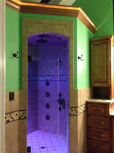 Custom luxury steam shower - Luxury steam showers ...
