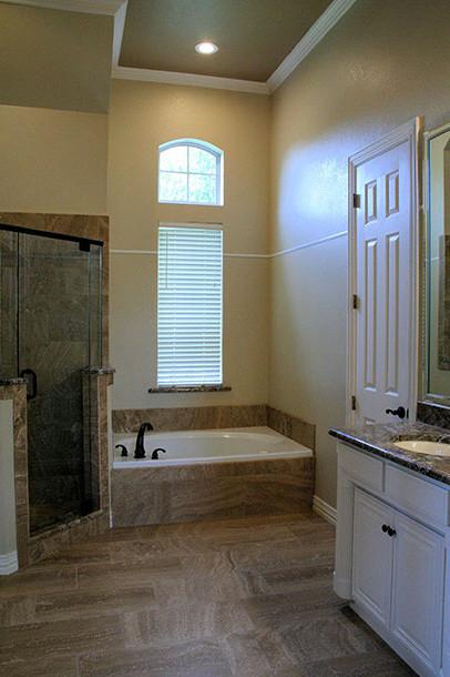 Custom Master Bath Contemporary Bathroom
