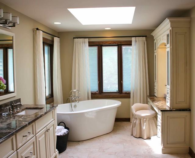 custom master bath traditional bathroom