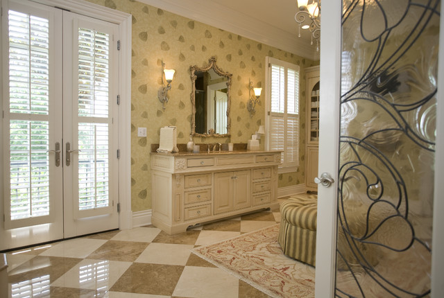 Custom master bath sterling development group traditional bathroom louisville by for Bathroom mirrors louisville ky