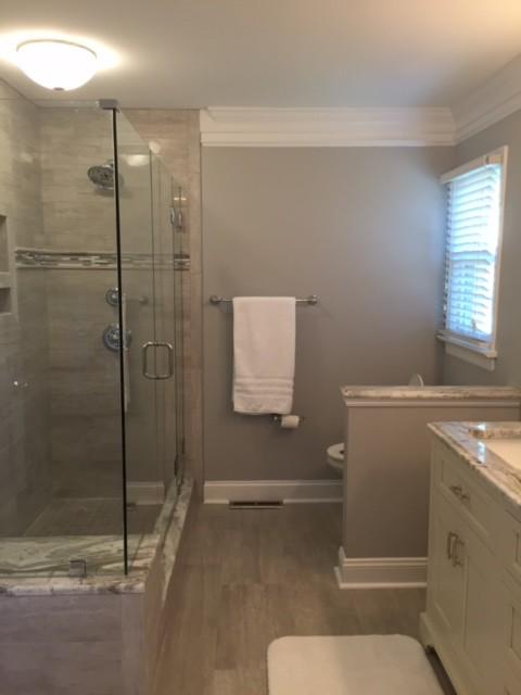 custom master bathroom traditional bathroom richmond by case