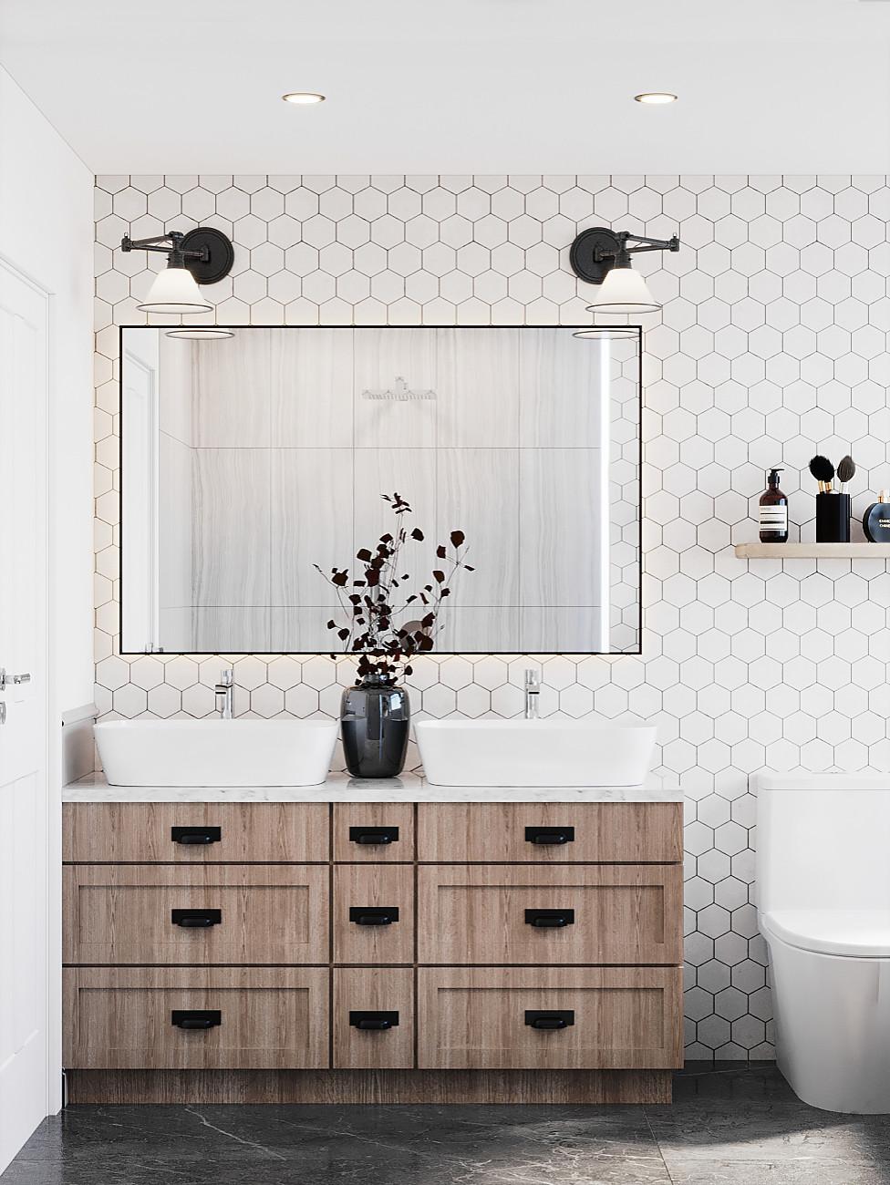 Custom Master Bathroom - Palo Alto