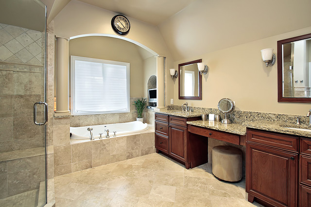 Custom master bathroom remodel for Las vegas bathroom remodeling companies