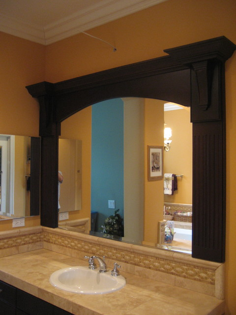 custom framed mirrors bathroom custom mirror frame 18028