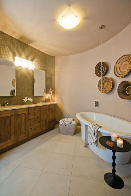 custom rustic master bathroom contemporary bathroom denver by