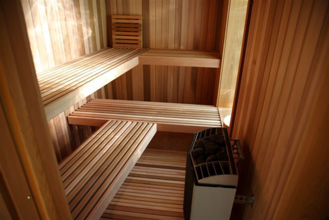 Custom Sauna Bathroom
