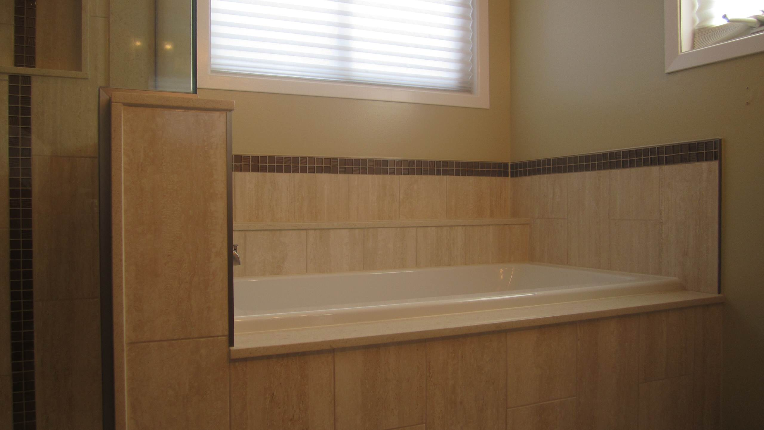 Custom Shower and Tub