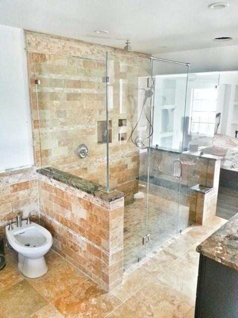 Custom Shower Doors Traditional Bathroom Atlanta