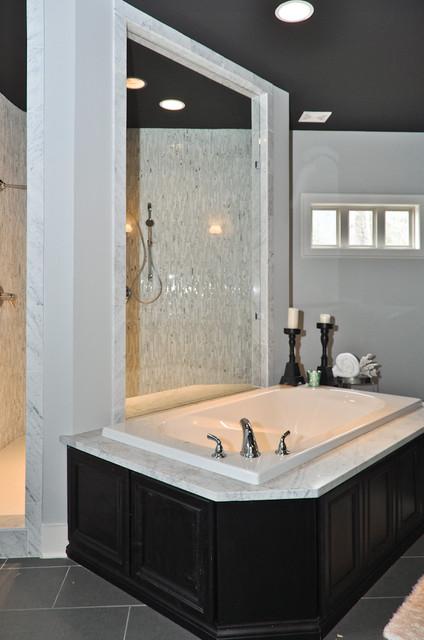 Custom shower in new home community james hill bathroom for Bathroom builders birmingham