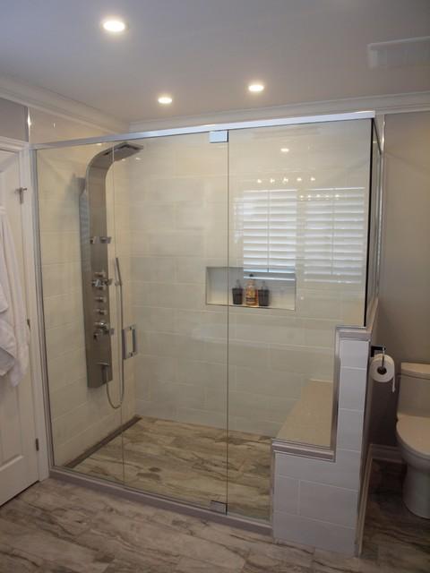 Custom high end bathroom modern bathroom ottawa by for High end modern bathrooms