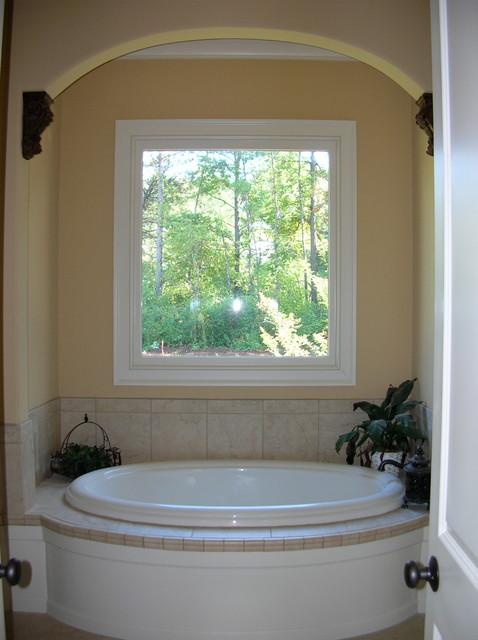 Custom spec home traditional-bathroom