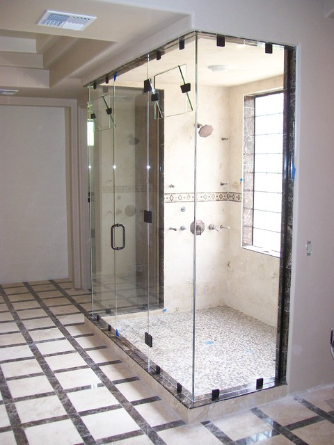 Custom steam shower enclosure bathroom phoenix by az for Build steam shower