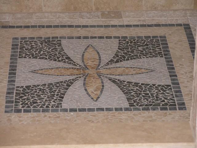Custom stone ceramic bathroom for Bode floors columbia