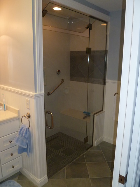 Custom Swanstone Steam Shower traditional bathroom. Custom Swanstone Steam Shower   Traditional   Bathroom   Other